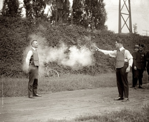 Bullet Proof Vest in 1923